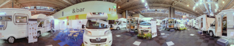 Auto-Sleepers Stand at the Motorhome & Caravan Show 2011